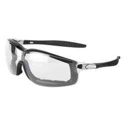 Crews RT110AF Protective Glasses, Anti-Fog Clear Lens