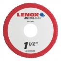 "Lenox METALMAX Cut-Off Wheel - 1.5"" Diameter, .050"" Thickness, 3/8"" Arbor, 1972914"