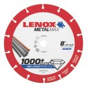 "Lenox METALMAX Cut-Off Wheel - 8"" Diameter, .060"" Thickness, 5/8"" Arbor, 1972925"