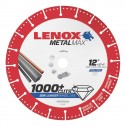 "Lenox METALMAX Cut-Off Wheel - 12"" Diameter, .150"" Thickness, 1"" Arbor, 1972930"